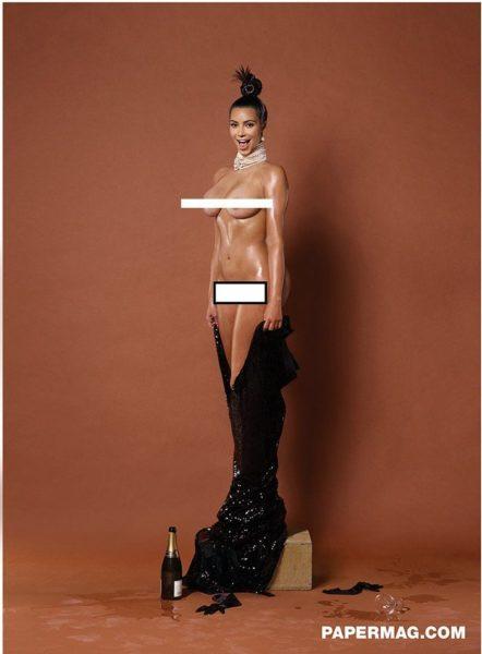 Kim Kardashian for Paper Magazine - Bellanaija - November 2014001_001