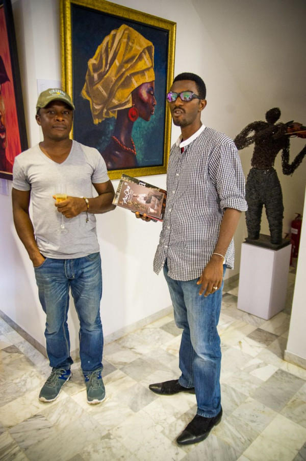 Laurent Perrier and Arabas Homemade sponsors The Woven Beauty Exhibition - Bellanaija - November2014001 (15)