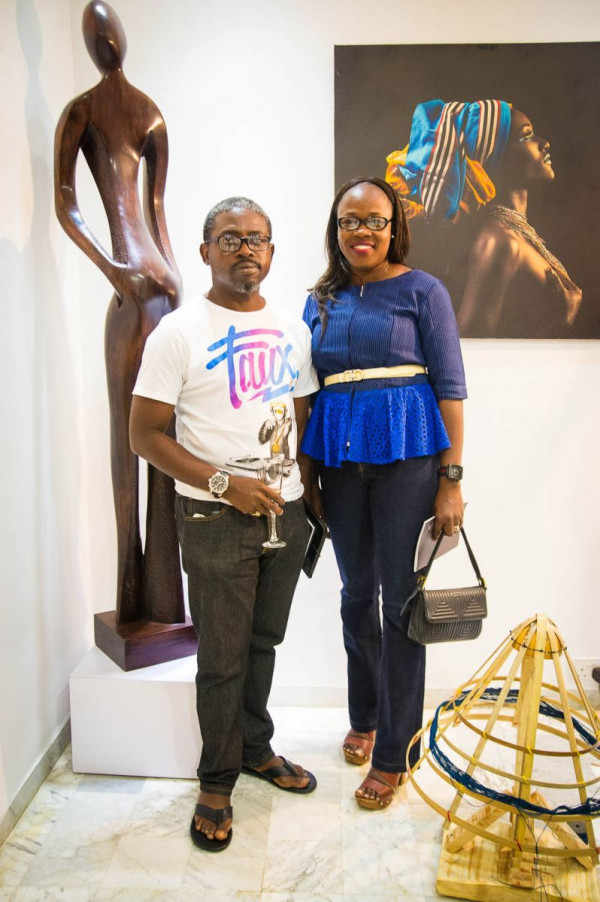 Laurent Perrier and Arabas Homemade sponsors The Woven Beauty Exhibition - Bellanaija - November2014001 (26)