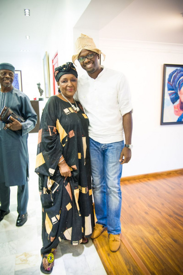 Laurent Perrier and Arabas Homemade sponsors The Woven Beauty Exhibition - Bellanaija - November2014001 (27)