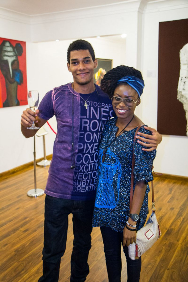 Laurent Perrier and Arabas Homemade sponsors The Woven Beauty Exhibition - Bellanaija - November2014001 (29)