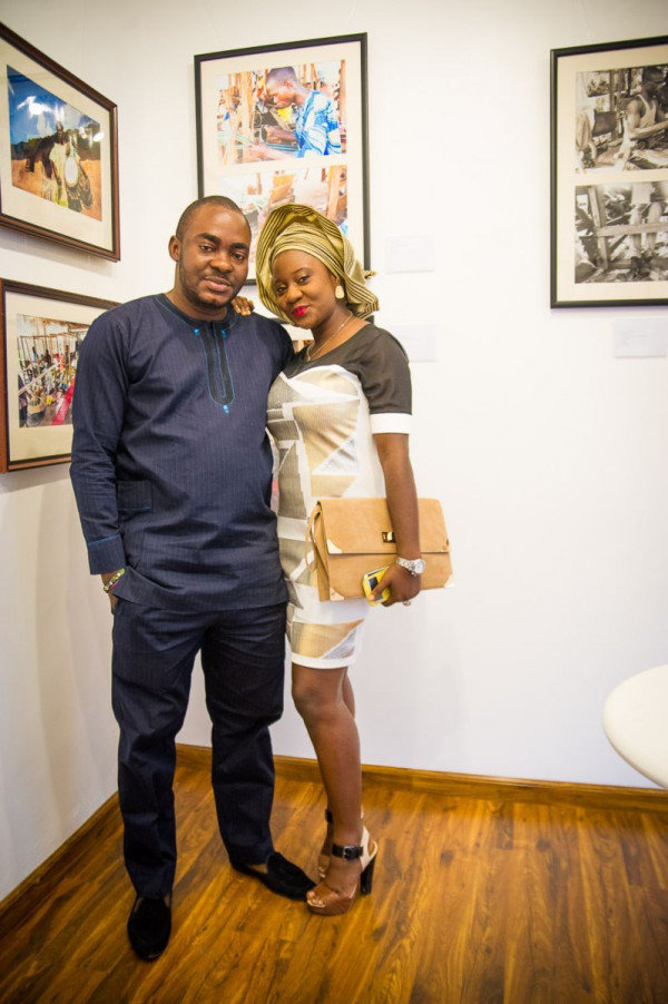 Laurent Perrier and Arabas Homemade sponsors The Woven Beauty Exhibition - Bellanaija - November2014001 (3)