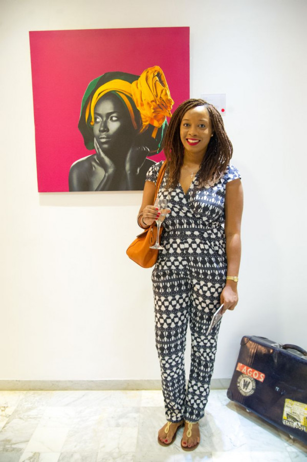 Laurent Perrier and Arabas Homemade sponsors The Woven Beauty Exhibition - Bellanaija - November2014001 (33)