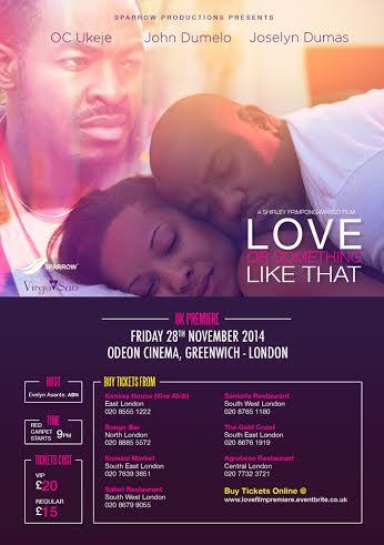 Love or Something Like That - BellaNaija - November 2014