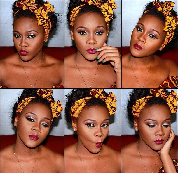 Makeup by VeryGoodBadGurl - Bellanaija - November 2014