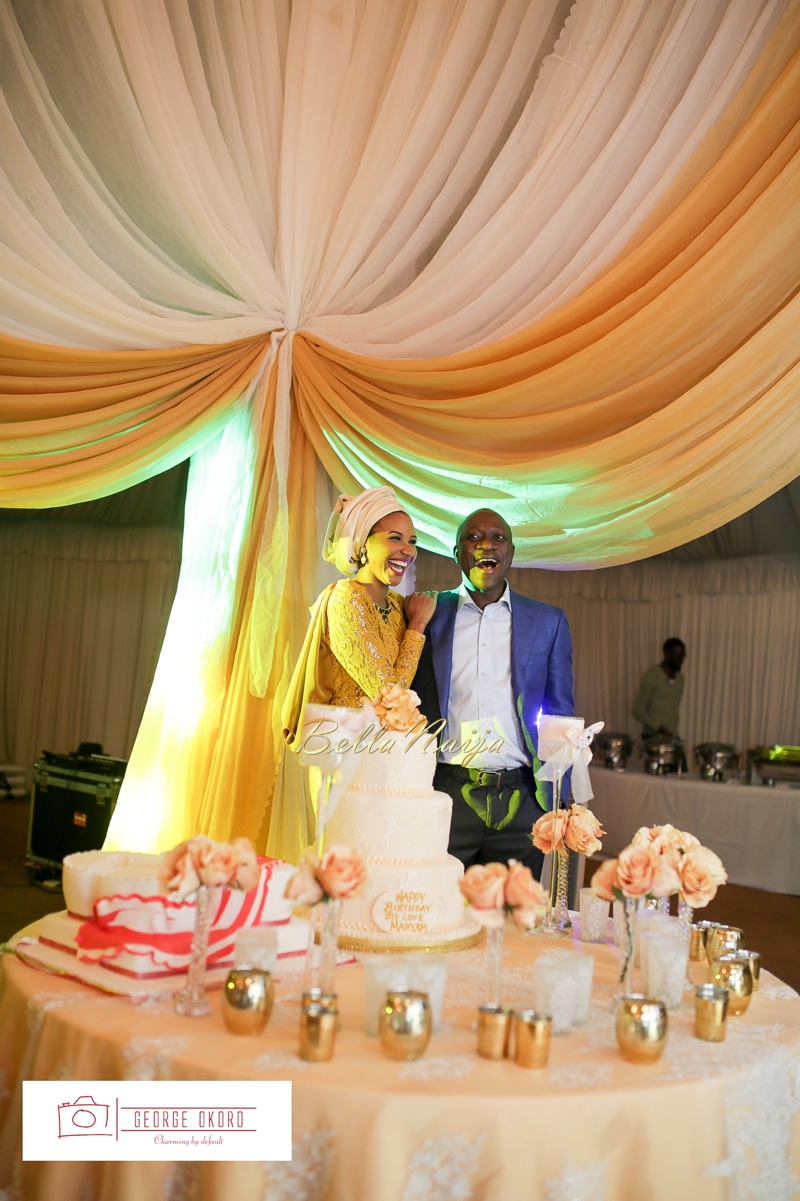 Maryam Augie & Albulmumin Jibrin | 30th Birthday | Abuja Nigeria Muslim Wedding at Blue Velvet | BellaNaija 0.George Okoro-244