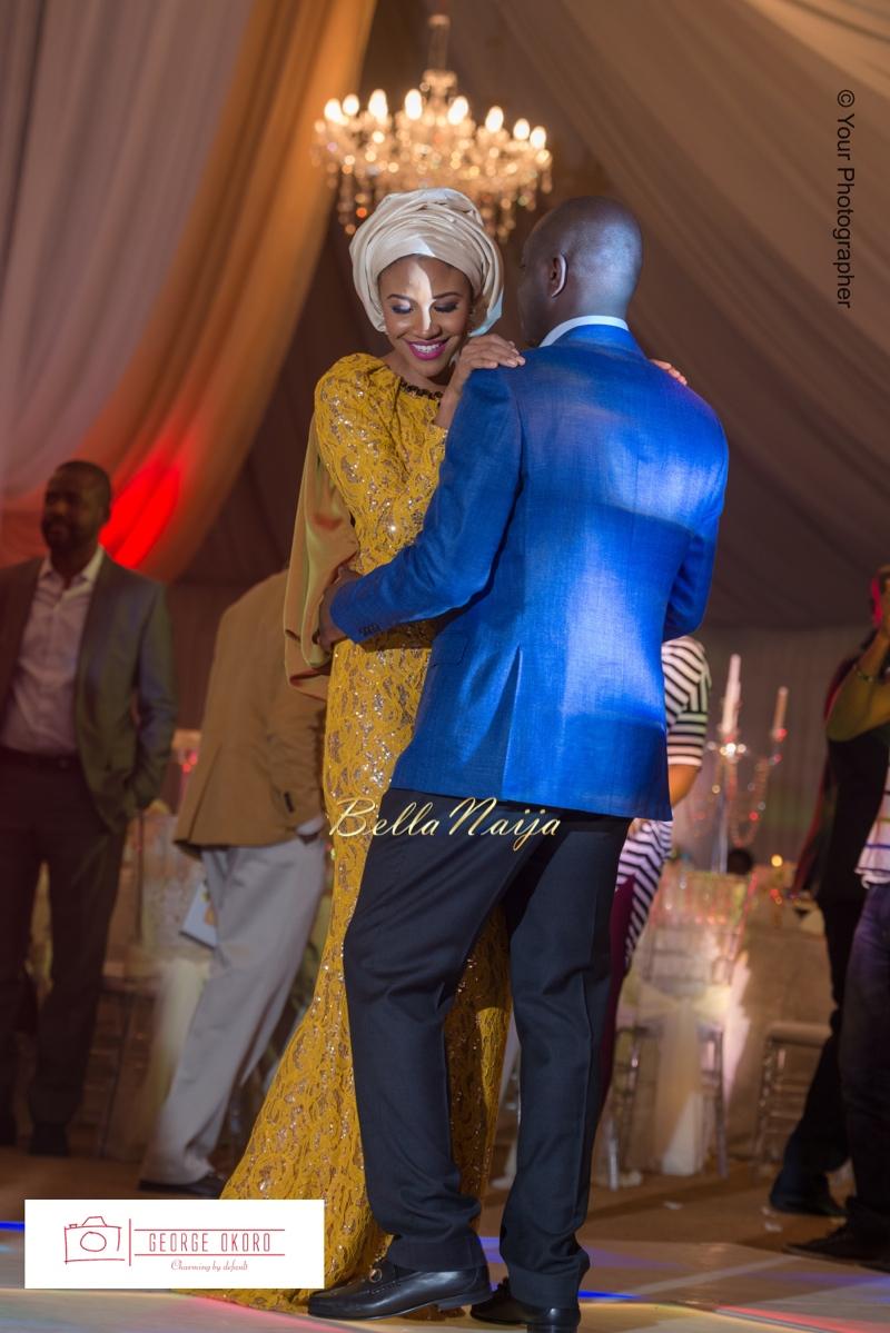 Maryam Augie & Albulmumin Jibrin | 30th Birthday | Abuja Nigeria Muslim Wedding at Blue Velvet | BellaNaija 0George Okoro-234v2