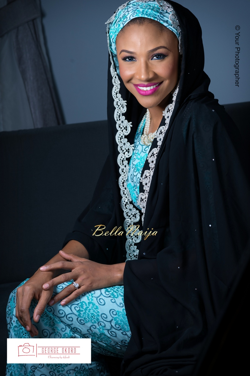 Maryam Augie & Albulmumin Jibrin | 30th Birthday | Abuja Nigeria Muslim Wedding at Blue Velvet | BellaNaija 0George Okoro-9v2