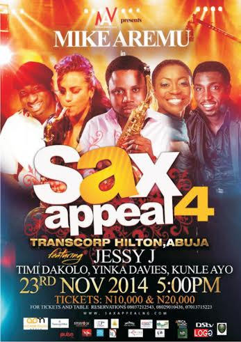 Mike Aremu Live in Concert - BellaNaija - November 2014001