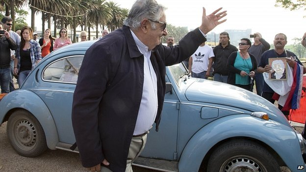 Image result for jose mujica car