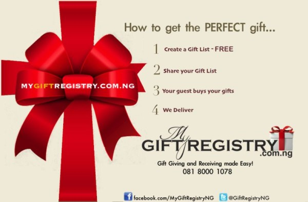Best Wedding Gift Registry: Weddings Made Perfect With MyGiftRegistry.com.ng