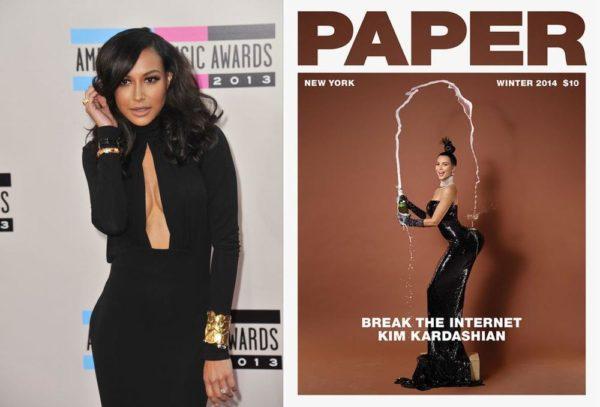 Naya Rivera Blasts Kim Kardashian