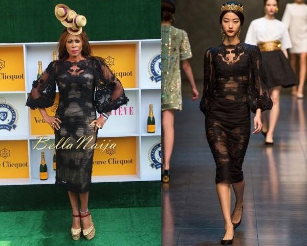 Nkiru Anumudu In Dolce Gabbana Genevieve Magazine Veuve Clicquot 39 S Fashion Style Day