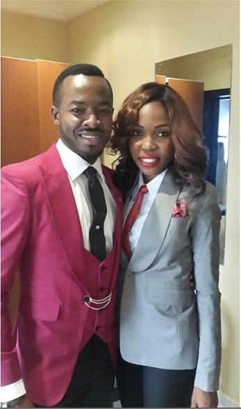 OC Ukeje Ibukun Wedding - Kemi Lala Akindoju - Female Best Man