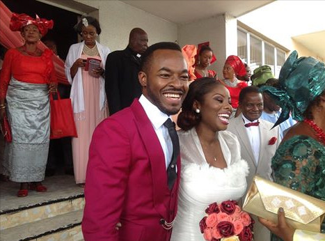 OC Ukeje Ibukun White Wedding