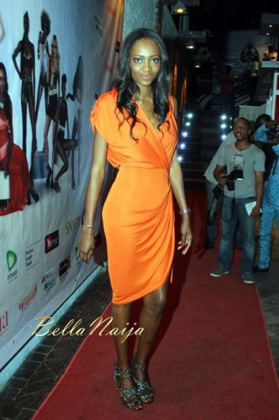 Supermodel Oluchi Orlandi At The Launch Party For Quot Africa