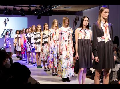 P&G Future Fabrics Giles Deacon Show