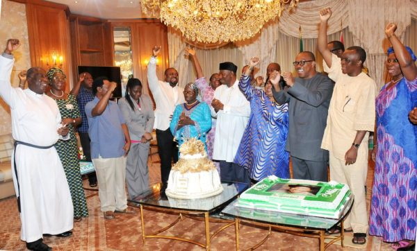 PIC. 1.  57TH BIRTHDAY OF PRESIDENT JONATHAN IN ABUJA