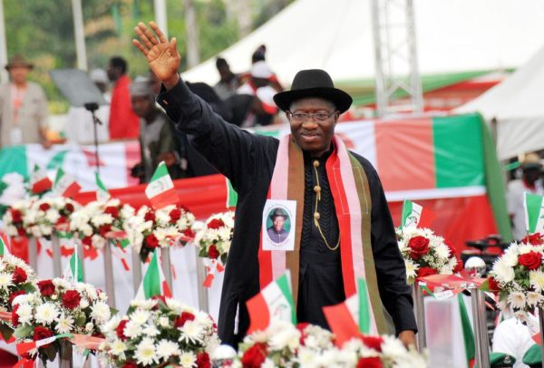 PIC. 10.  PRESIDENT JONATHAN DECLARES HIS INTEREST IN 2015 PRESIDENTIAL RACE IN  ABUJA