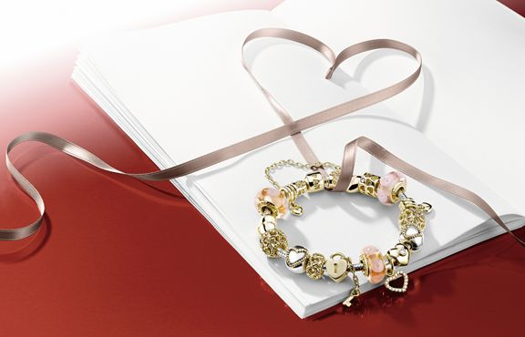 "PANDORAs statement jewellery makes it easy to say ""I LOVE YOU"" and remember every moment together"