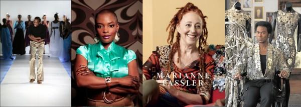 South African Designers David Tlale, Marianne Fassler