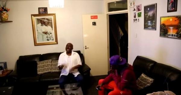 Laugh Till Your Ribs Crack! Watch a Boy Prank his Nigerian Dad