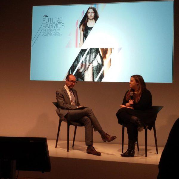 Q&A session with Fashion Editor Gianluca Longo and fashion designer Mary Katrantzou