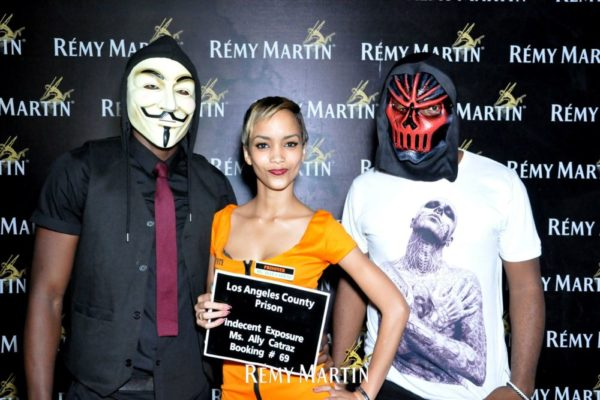 Remy Martin Haunted House Halloween Party - Bellanaija - November2014040