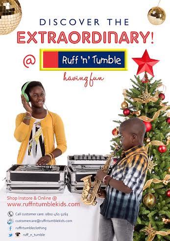 Ruff 'n' Tumble The Extraordinary - Bellanaija - November 2014
