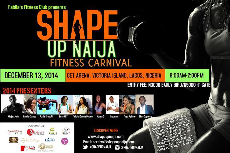 Shapeup Naija Fitness Carnival - Bellanaija - November 2014