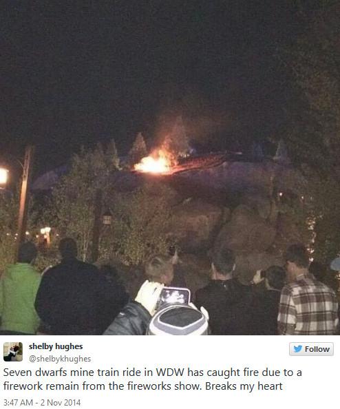 Small fire at Disney World's Seven Dwarfs Mine Train - CNN.com 2014-11-03 08-36-30