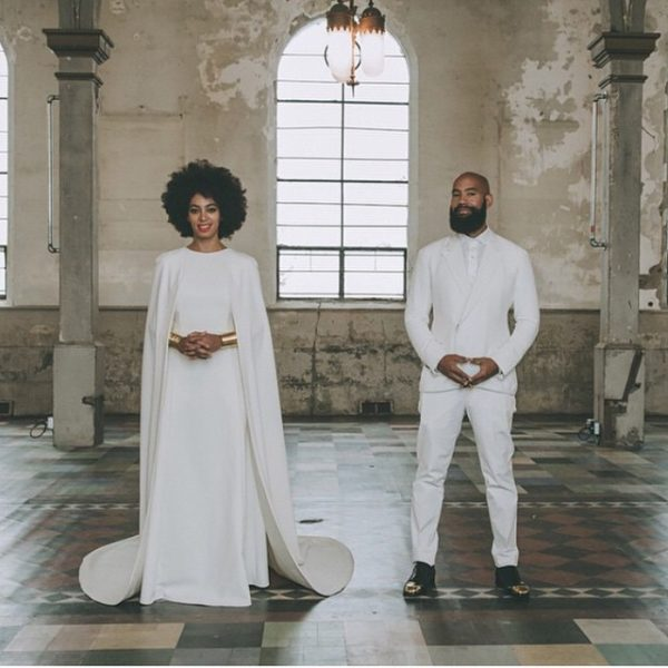 Solange Alan Ferguson Wedding
