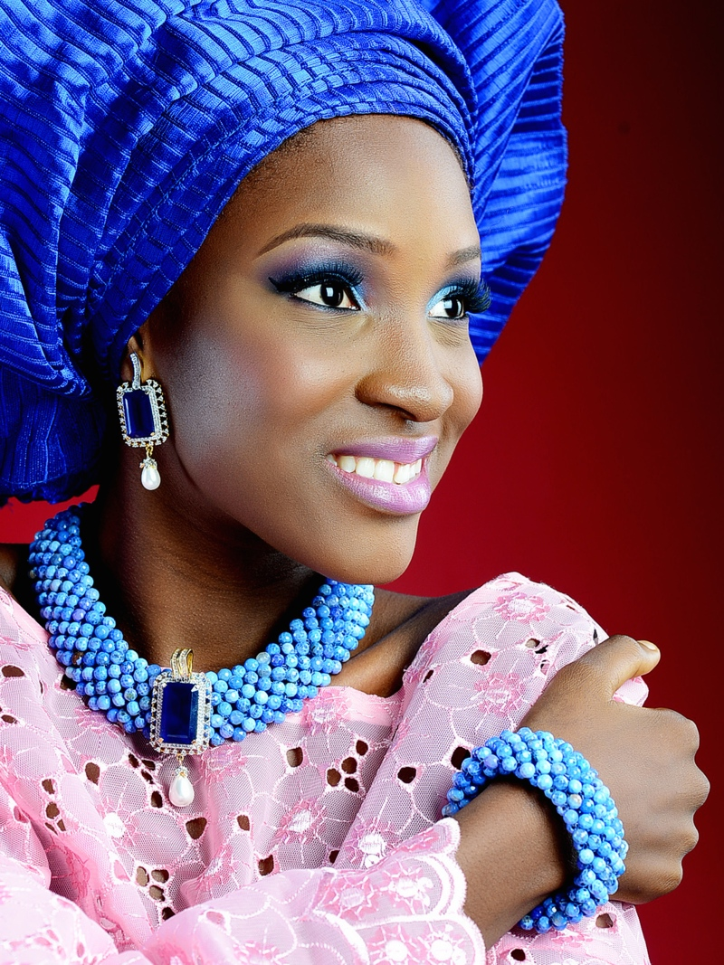Naija White Wedding Makeup : BN Bridal Beauty: Colourful Bridal Inspiration! Stellas ...