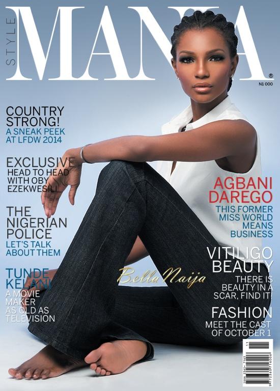 Style Mania Magazine November 2014 Cover Agbani Darego BellaNaija 2014 2