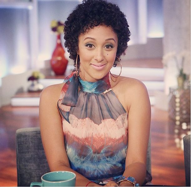 Tamara Mowry-Housley Natural Hair - BellaNaija - November 2014