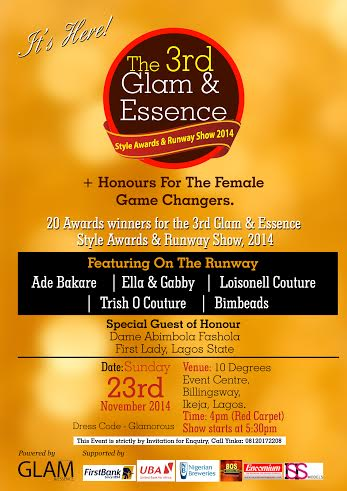 The 3rd Glam & Essence - BellaNaija - November 2014