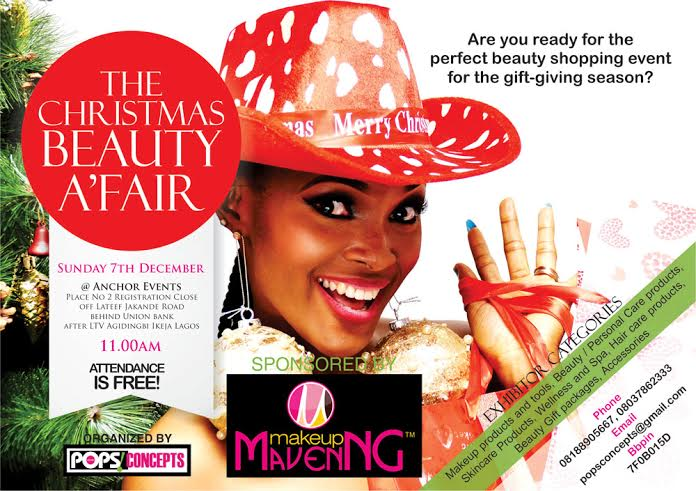 The Christmas Beauty A'Fair - BellaNaija - November 2014