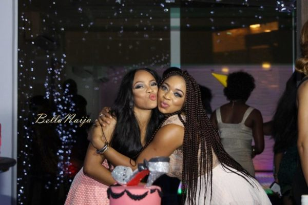 Toke Makinwa & Tracy Nwapa