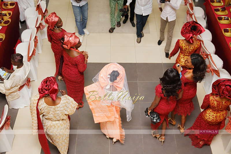 Tolu Ogunlesi - Kemi Agboola Wedding | Potterclay | November 2014 | BellaNaija 001.Kemi & Tolu (1)