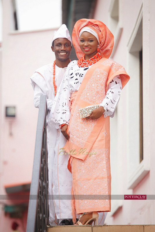 Tolu Ogunlesi - Kemi Agboola Wedding | Potterclay | November 2014 | BellaNaija 003.Kemi & Tolu (11)