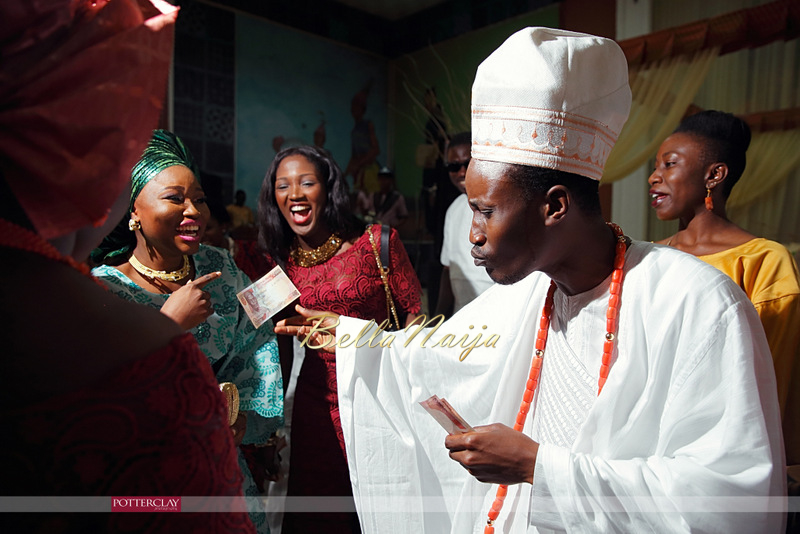 Tolu Ogunlesi - Kemi Agboola Wedding | Potterclay | November 2014 | BellaNaija 005.Kemi & Tolu (13)