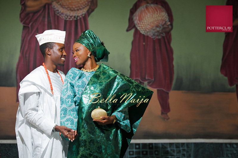 Tolu Ogunlesi - Kemi Agboola Wedding | Potterclay | November 2014 | BellaNaija 010.Kemi & Tolu (18)