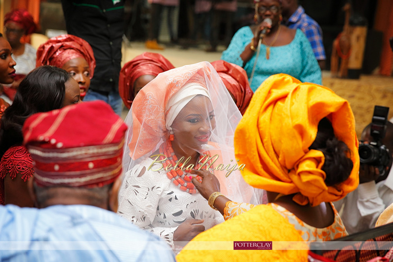 Tolu Ogunlesi - Kemi Agboola Wedding | Potterclay | November 2014 | BellaNaija 012.Kemi & Tolu (3)