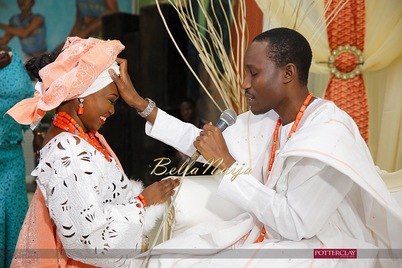 Tolu Ogunlesi - Kemi Agboola Wedding | Potterclay | November 2014 | BellaNaija 015.Kemi & Tolu (6)