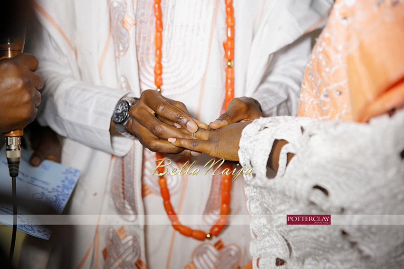 Tolu Ogunlesi - Kemi Agboola Wedding | Potterclay | November 2014 | BellaNaija 018.Kemi & Tolu (9)