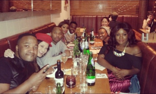 Dinner time with Munya, Vomo, Jennifer Su, Sizwe Dhlomo, Bonang Matheba & Zibuyile Dladla