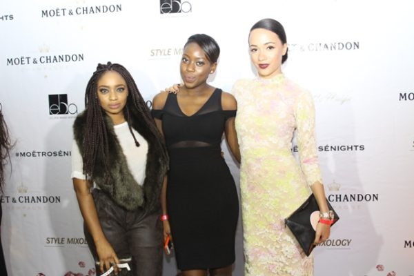 Tracy Nwapa, Teni Sagoe, Eku Edewor