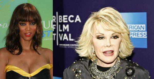 Tyra Banks Joan Rivers