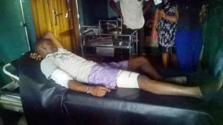 Unijos Student shot during protest