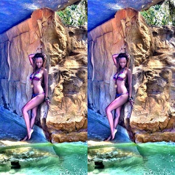 africa vjs vanessa mdee amp nomuzi mabena flaunt their bikini bodies